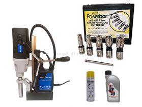 Quantum 5000 Magnetic Drill Kit 2  50mm Capacity  240v