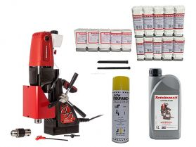 ROTABROACH ELEMENT 40 KIT 3 - 17 PIECE ROTABROACH CUTTER KIT & LUBRICANTS