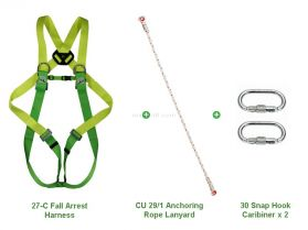 Climax 27-C Fall Arrest Anchoring Lanyard Kit
