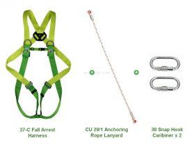 Climax 27-C Fall Arrest Anchoring Lanyard Kit