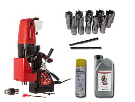 Rotabroach Element 40 Kit 2 - 12 PIECE ROTABROACH CUTTER KIT & LUBRICANTS