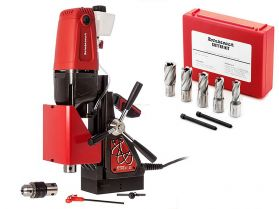 Rotabroach Element 40 Magnetic Drill with RAPK2000 Cutter Kit