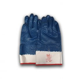 HERCULES FULLY DIPPED ROUGH NITRILE GLOVES - PACK OF 10