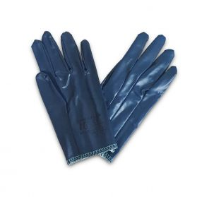 ARMAFLEX NITRILE RUBBER COATED BLUE GLOVES - PACK OF 12 - SMALL SIZES