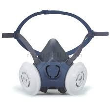MOLDEX HALF MASK RESPIRATOR WITH 2 P3 FILTERS 7032 (FFP3)
