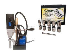Quantum 5000 Magnetic Drill Kit1  50mm Capacity  240v