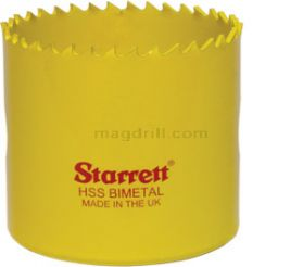 Starrett 67mm Fast Cut Hole saw