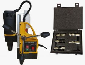 ESSENTIAL BOHRMASTER 240V  MAGDRILL WITH CUTTER KIT boxed 35MM