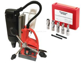 ESSENTIAL UNIBOR BOHRMASTER 110V MAGDRILL WITH CUTTER KIT 1
