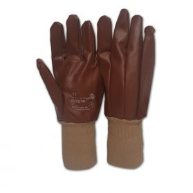 HONEYWELL KCL WORKTRILL BROWN COATED SIZE 9 GLOVES - PACK OF 10
