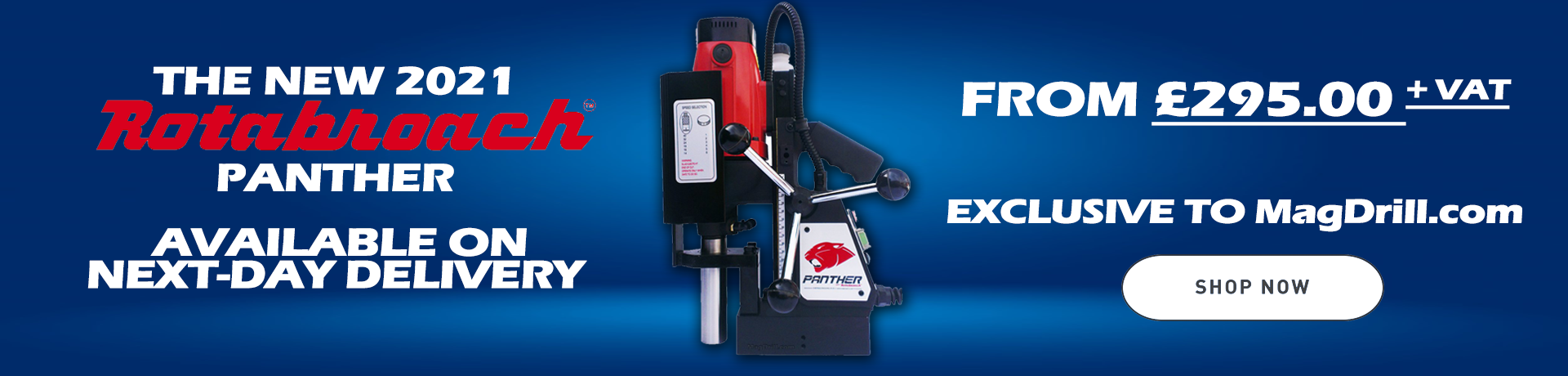 Rotabroach Panther Magnetic Drilling Machine