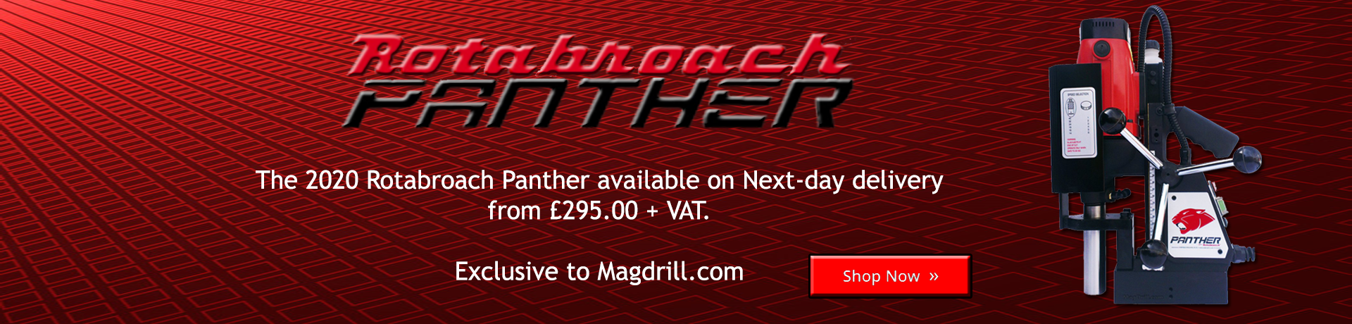 Panther Magnetic drilling machine