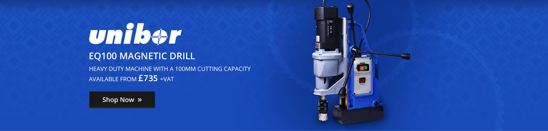 Unibor EQ100 Magnetic Drilling Machine